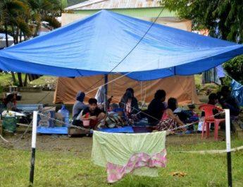 Warga Majane terdampak Gempa Bumi terima Bantuan dari BNN Sumsel