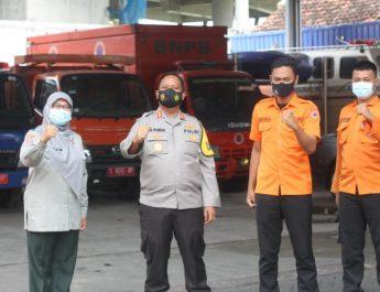 Antisipasi Bencana Alama, Kapolres Bojonegoro Perkuat Koordinasi Dengan BPBD Kabupaten Bojonegoro